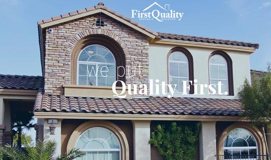 First Quality Roofing Professionals where we put quality first