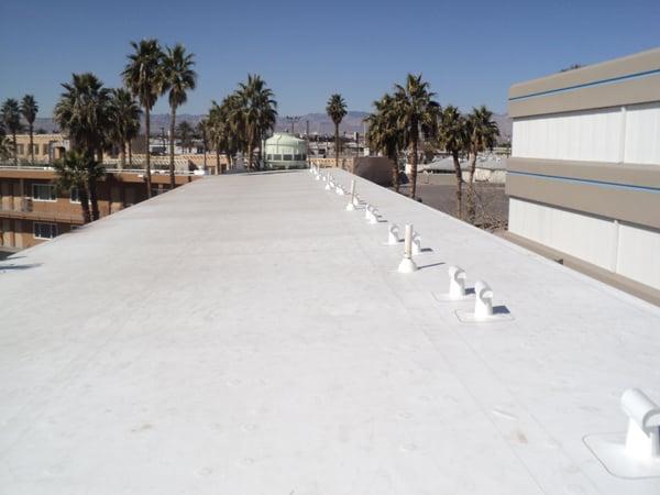 Cool roof coating Keeps Las Vegas Homes Cool