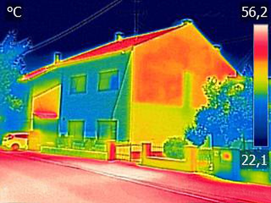 Thermal Imaging from First Quality Roofing & Insulation