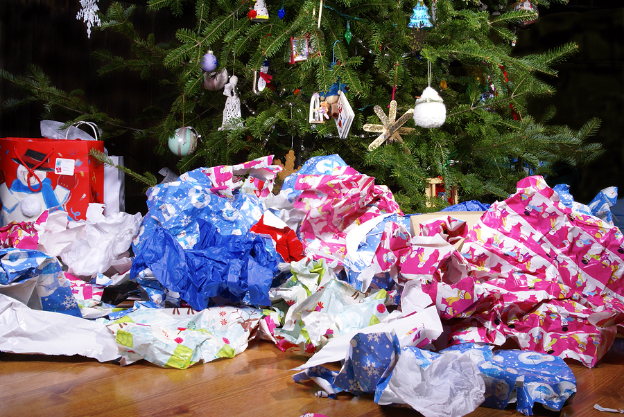recycle your holiday trash this year