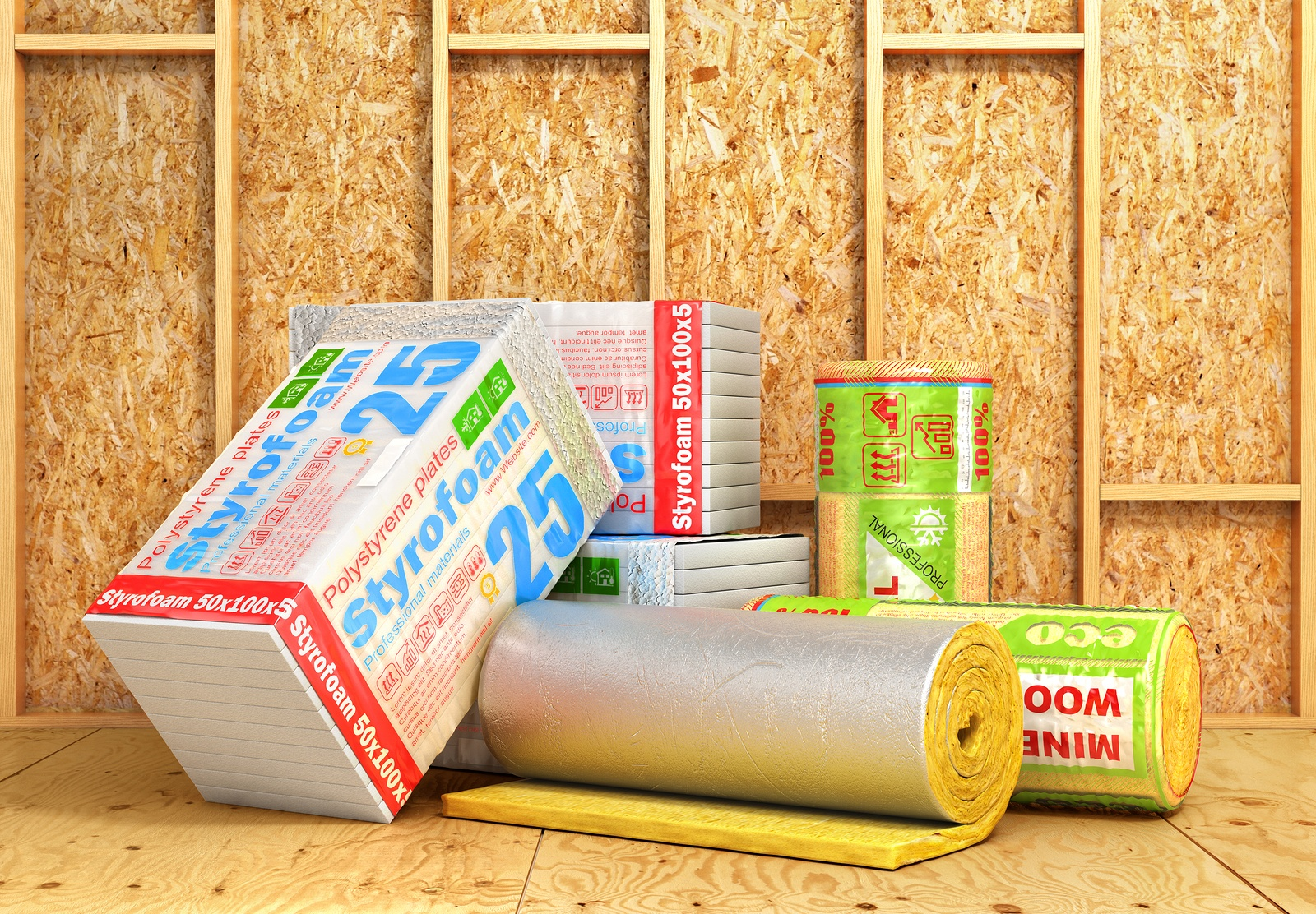 Insulation R Value From the Top